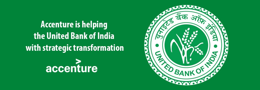 Accenture is helping  the United Bank of India  with strategic transformation