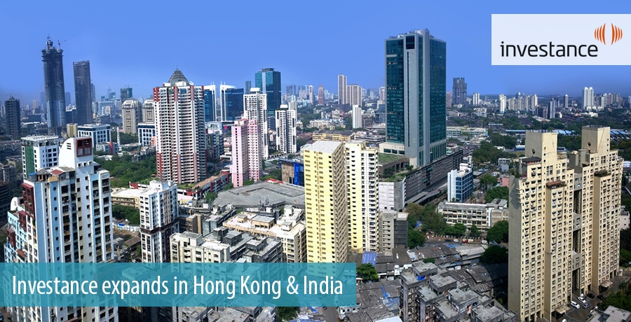 Investance expands in Hong Kong & India