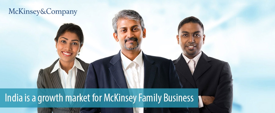 India is a growth market for McKinsey Family Business