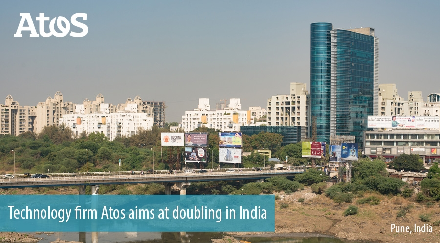 Technology firm Atos aims at doubling in India