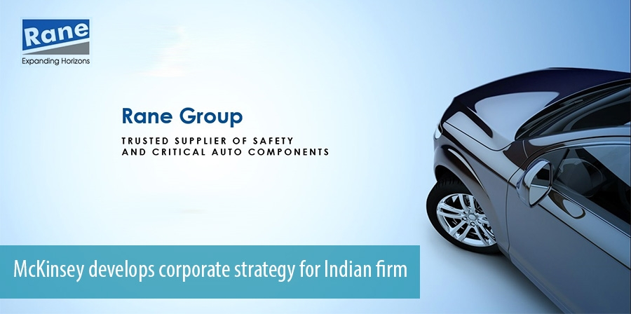 McKinsey develops corporate strategy for Indian firm