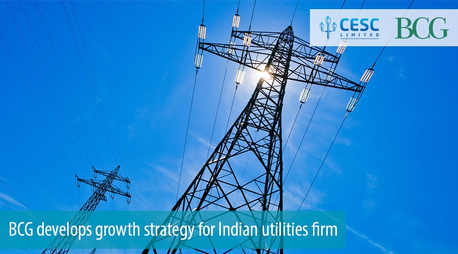 BCG develops growth strategy for Indian utilities firm