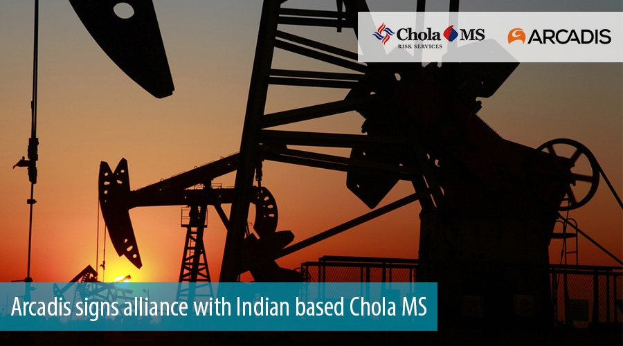 Arcadis signs alliance with Indian based Chola MS