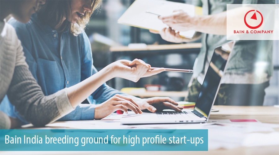 Bain India breeding ground for high profile start-ups