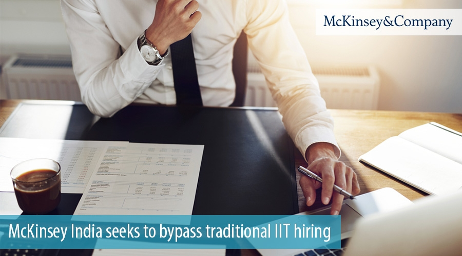 McKinsey India seeks to bypass traditional IIT hiring