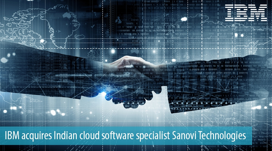IBM acquires Indian cloud software specialist Sanovi Technologies