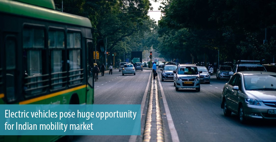 Electric vehicles pose huge opportunity for Indian mobility market
