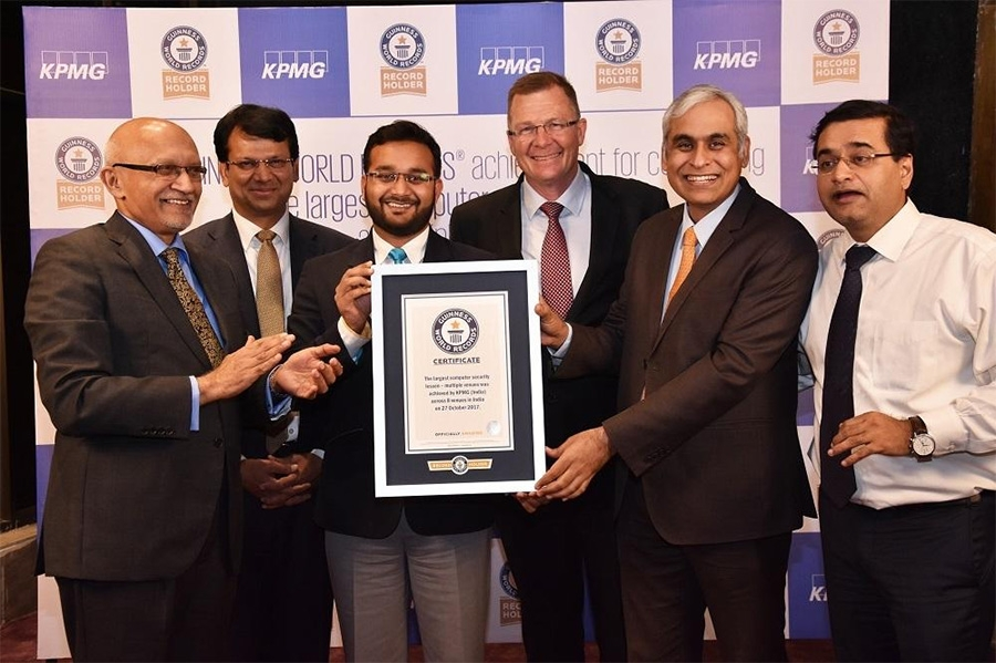 KPMG India enters Guinness World Records with cybersecurity initiative
