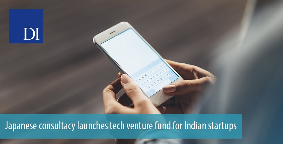 Japanese consultacy launches tech venture fund for Indian startups