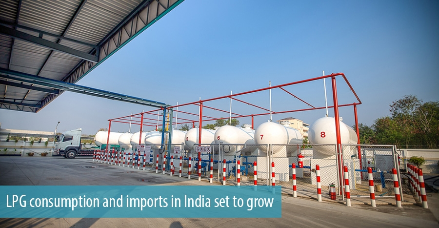 LPG consumption and imports in India set to grow