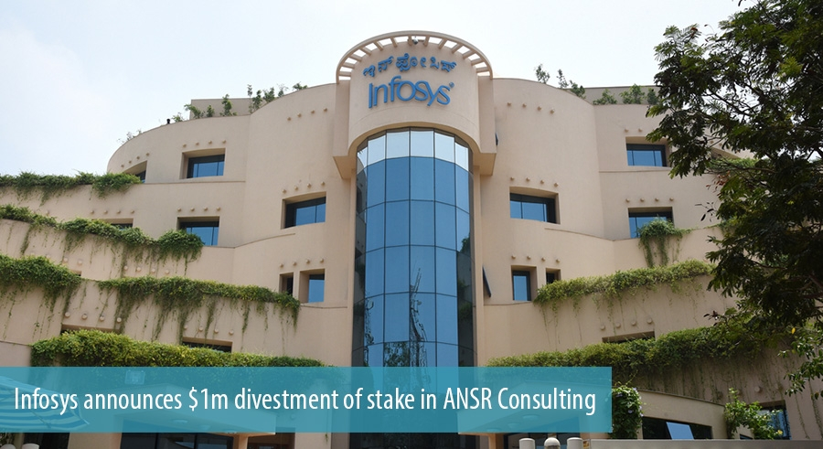 Infosys announces $1m divestment of stake in ANSR Consulting