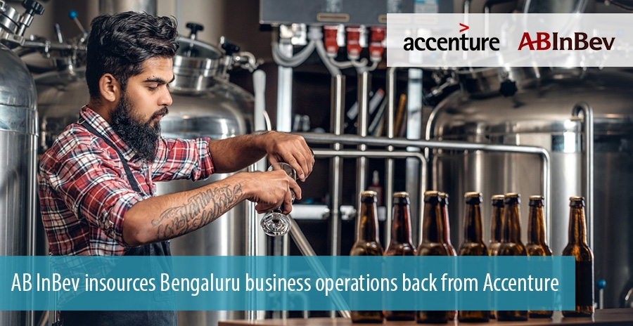 AB InBev insources Bengaluru business operations back from Accenture