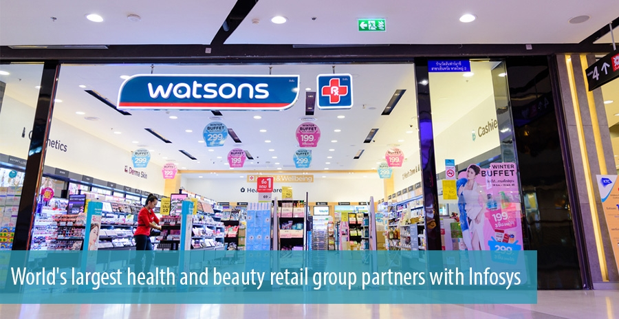 World's largest health and beauty retail group partners with Infosys