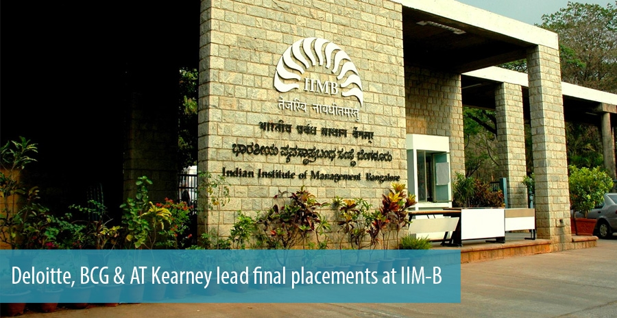 Deloitte, BCG & AT Kearney lead final placements at IIM-B