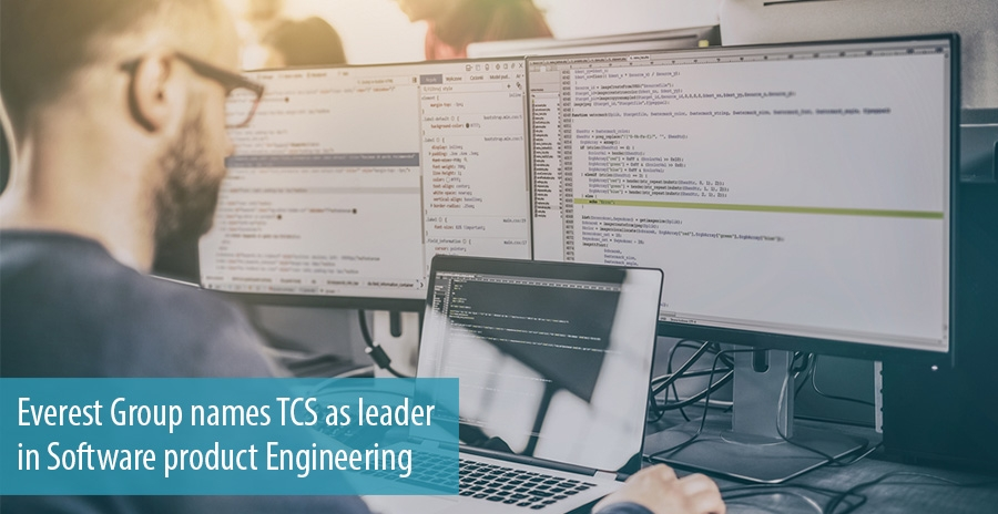 Everest Group names TCS as leader in Software product Engineering