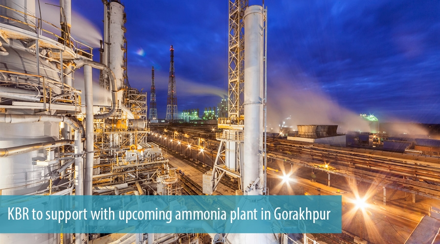 KBR to support with upcoming ammonia plant in Gorakhpur