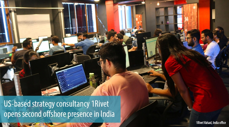 US-based strategy consultancy 1Rivet opens second offshore presence in India
