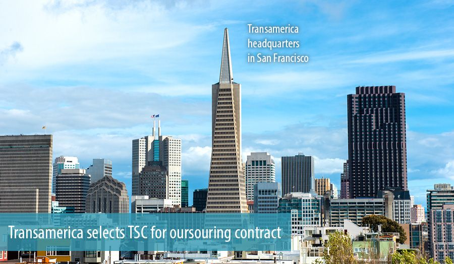 Transamerica selects TSC for oursouring contract