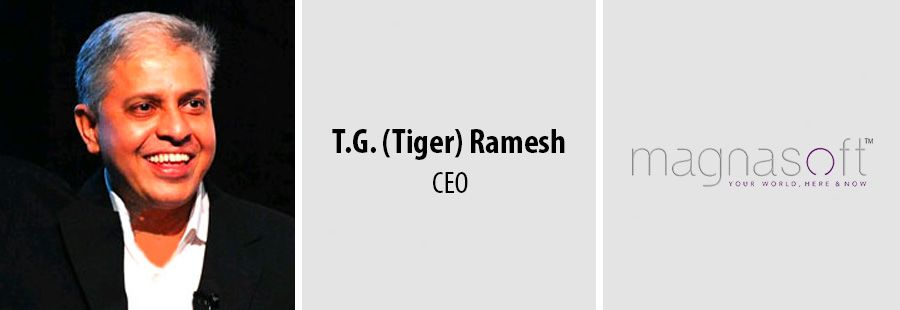 Magnasoft ready to pounce on IoT market through appointment of Tiger Ramesh