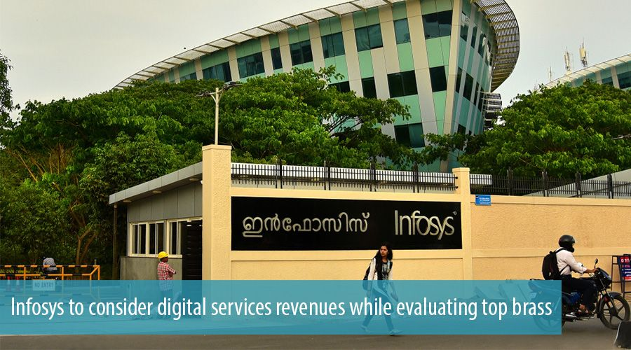 Infosys to consider digital services revenues while evaluating top brass