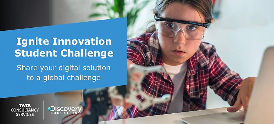 TCS collaborates with Discovery Education to launch student innovation contest