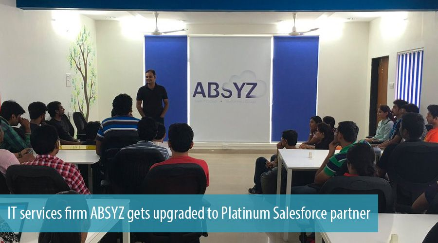 IT services firm ABSYZ gets upgraded to Platinum Salesforce partner