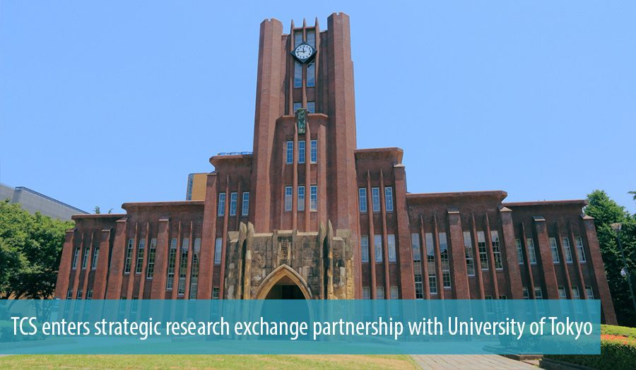 TCS enters strategic research exchange partnership with University of Tokyo