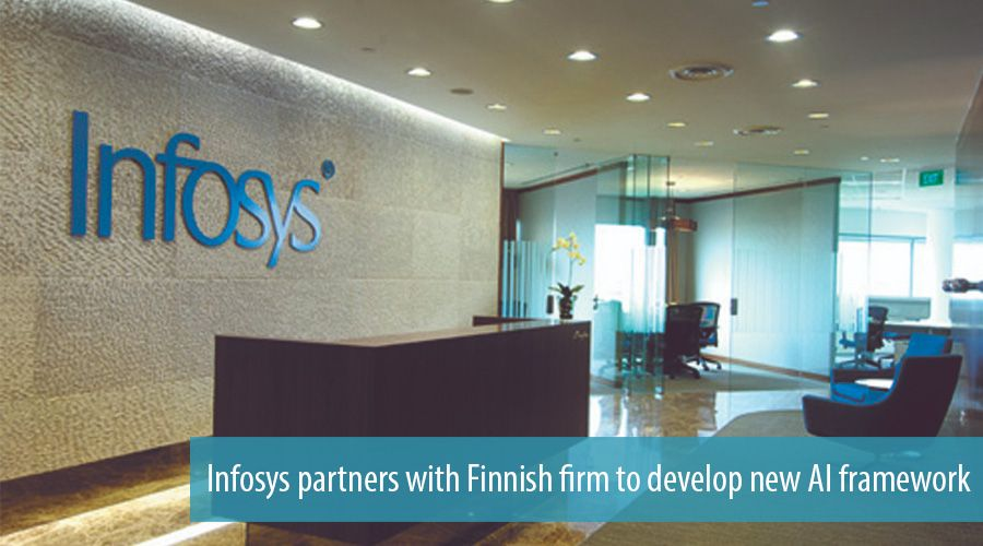 Infosys partners with Finnish firm to develop new AI framework
