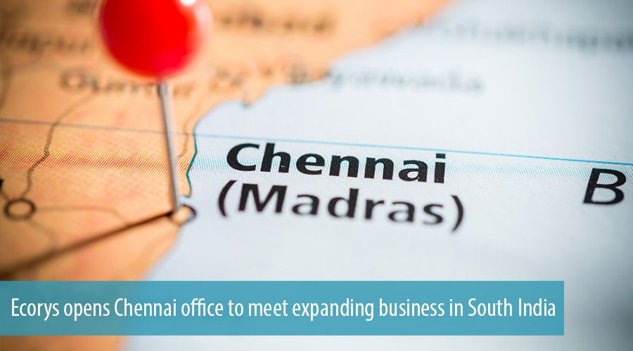 Ecorys opens Chennai office to meet expanding business in South India