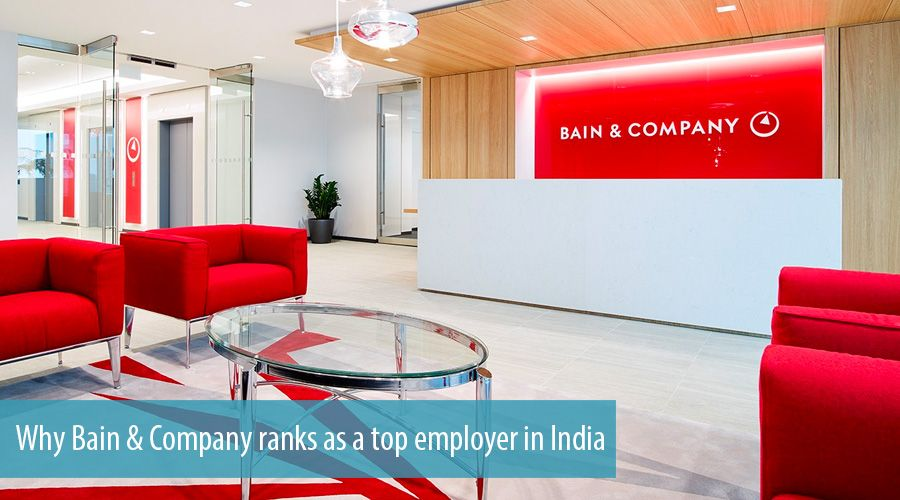 Why Bain & Company ranks as a top employer in India