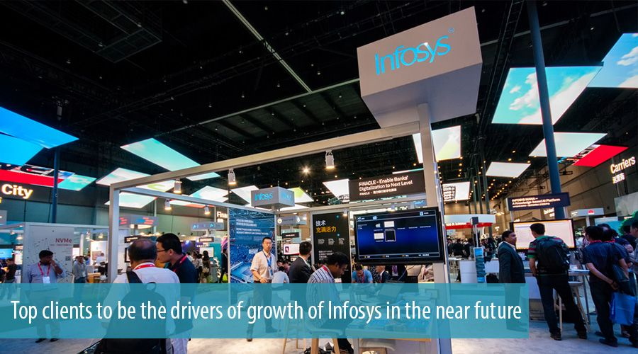 Top clients to be the drivers of growth of Infosys in the near future