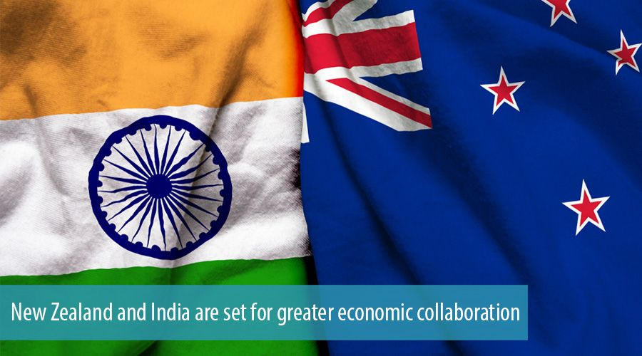 New Zealand and India are set for greater economic collaboration