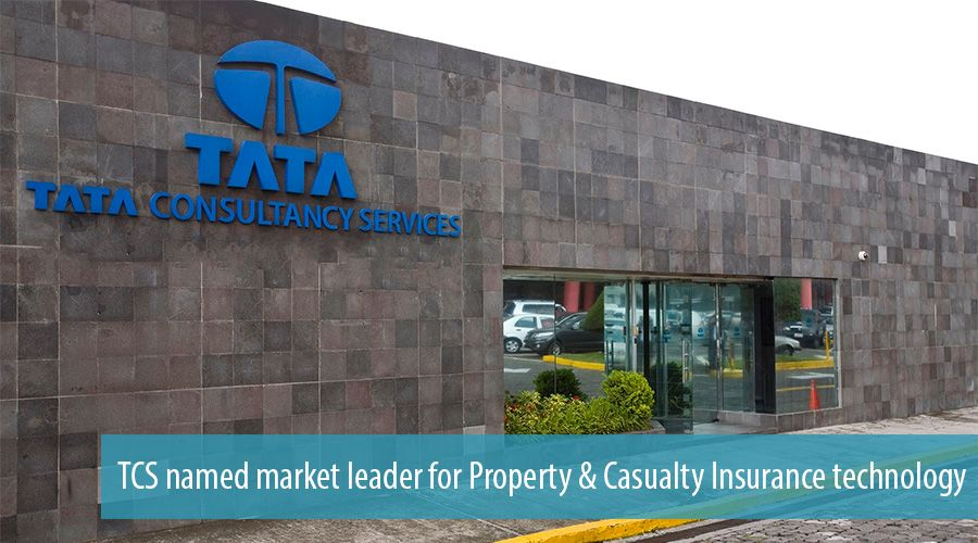 TCS named market leader for Property & Casualty Insurance technology