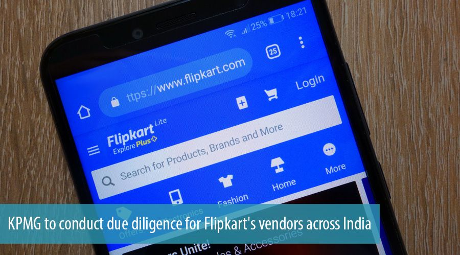 KPMG to conduct due diligence for Flipkart's vendors across India