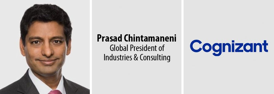 Prasad Chintamaneni resigns as Cognizant's Global President of Industries & Consulting