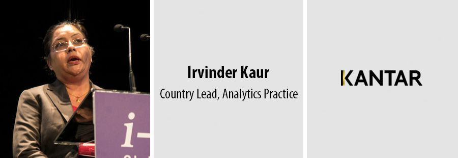 Irvinder Kaur appointed the India head for Kantar's Analytics Practice