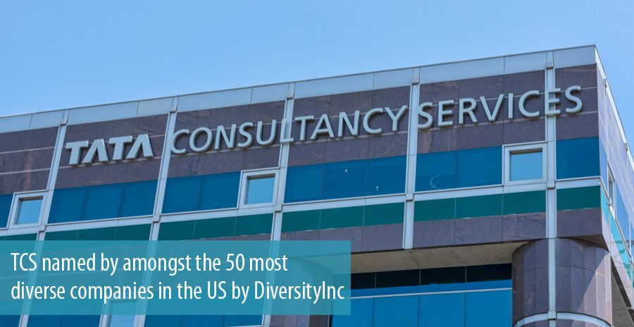 TCS named by amongst the 50 most diverse companies in the US by DiversityInc