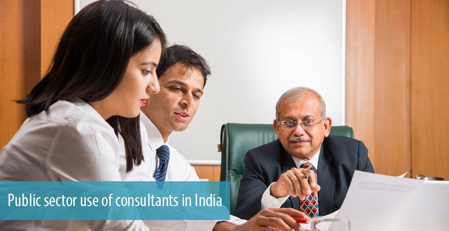 Public sector use of consultants in India