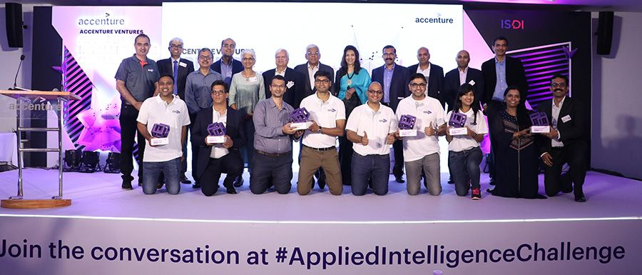 Six startups win Accenture's Applied Intelligence Challenge for deep tech