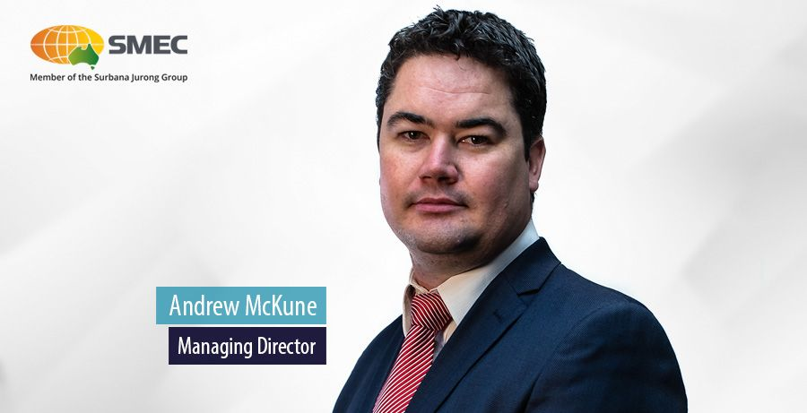 SMEC appoints Andrew McKune as Managing Director for India