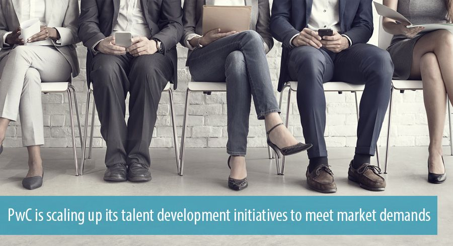 PwC is scaling up its talent development initiatives to meet market demands