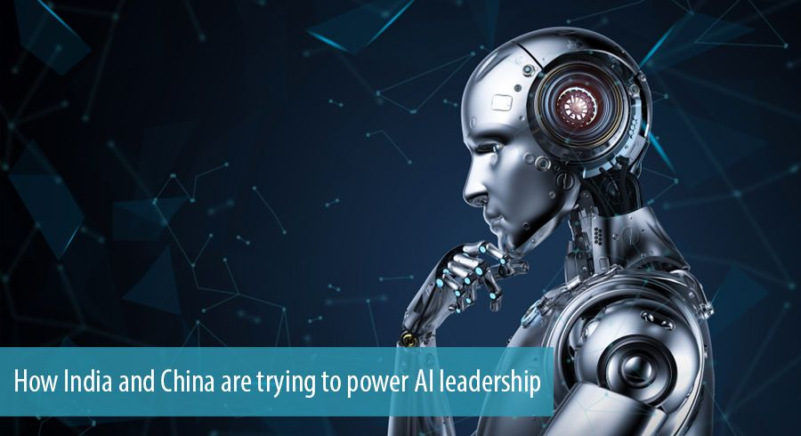 How India and China are trying to power AI leadership