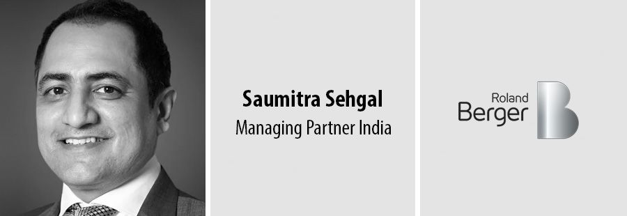 Saumitra Sehgal, Managing Partner Roland Berger India