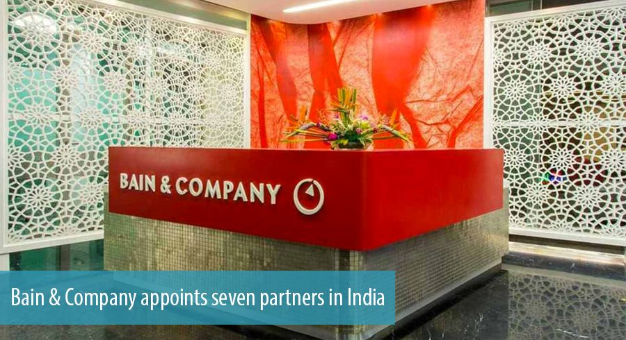 Bain & Company appoints seven partners in India
