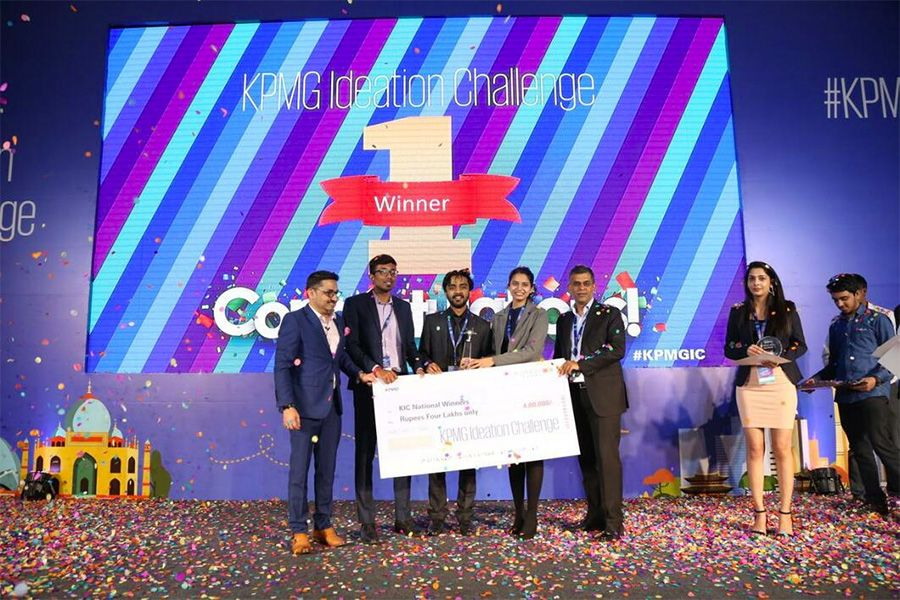 IIT Dhanbad wins the KPMG Innovation Challenge in India