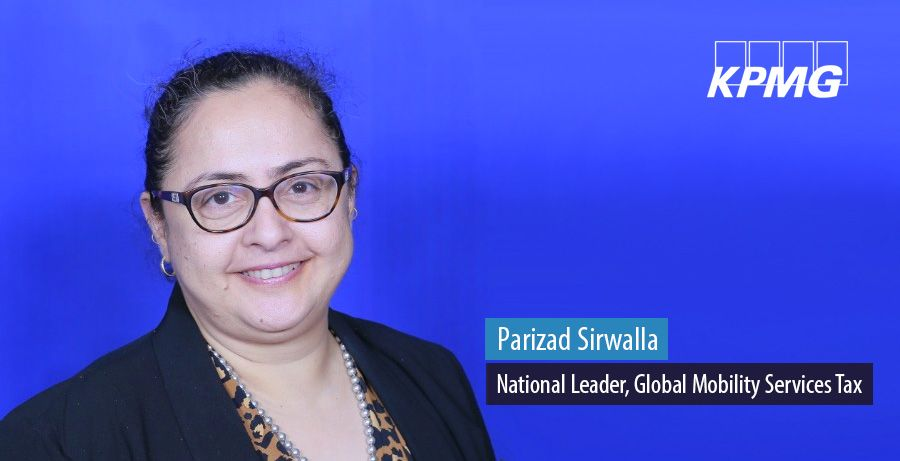 Parizad Sirwalla, National Leader, Global Mobility Services Tax at KPMG