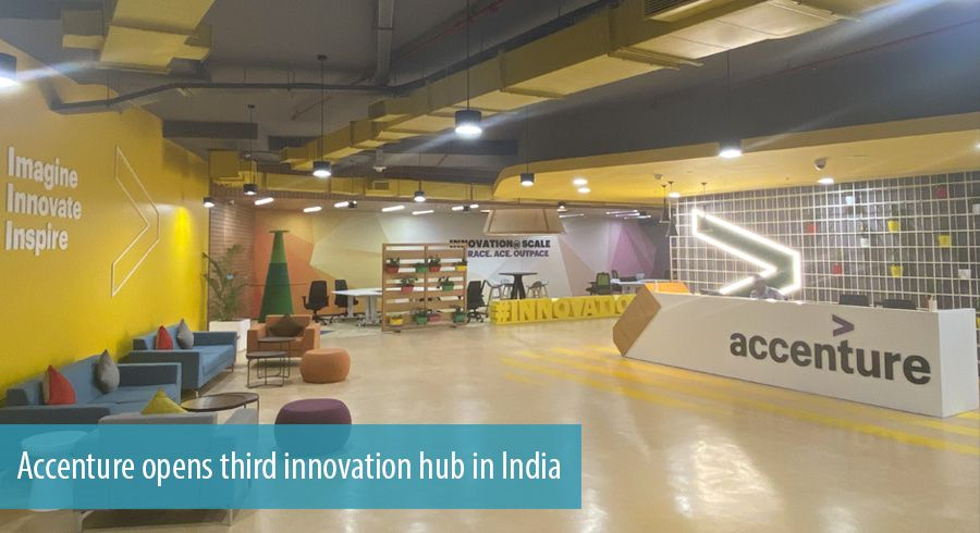 Accenture opens third innovation hub in India