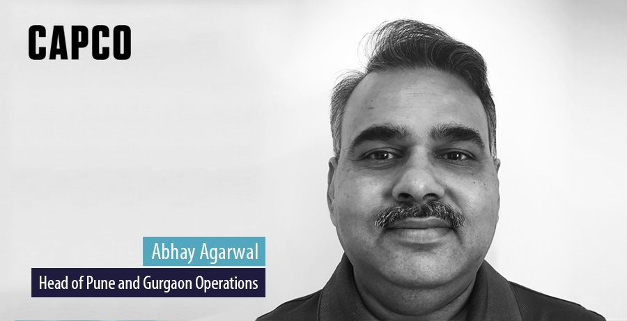 Abhay Agarwal leads Capco's Pune and Gurgaon offices