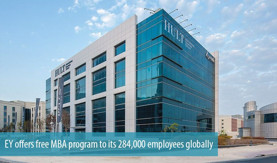 EY offers free MBA program to its 284,000 employees globally