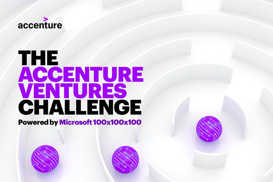 Accenture and Microsoft to hold startup contest in August - The Accenture Ventures Challenge